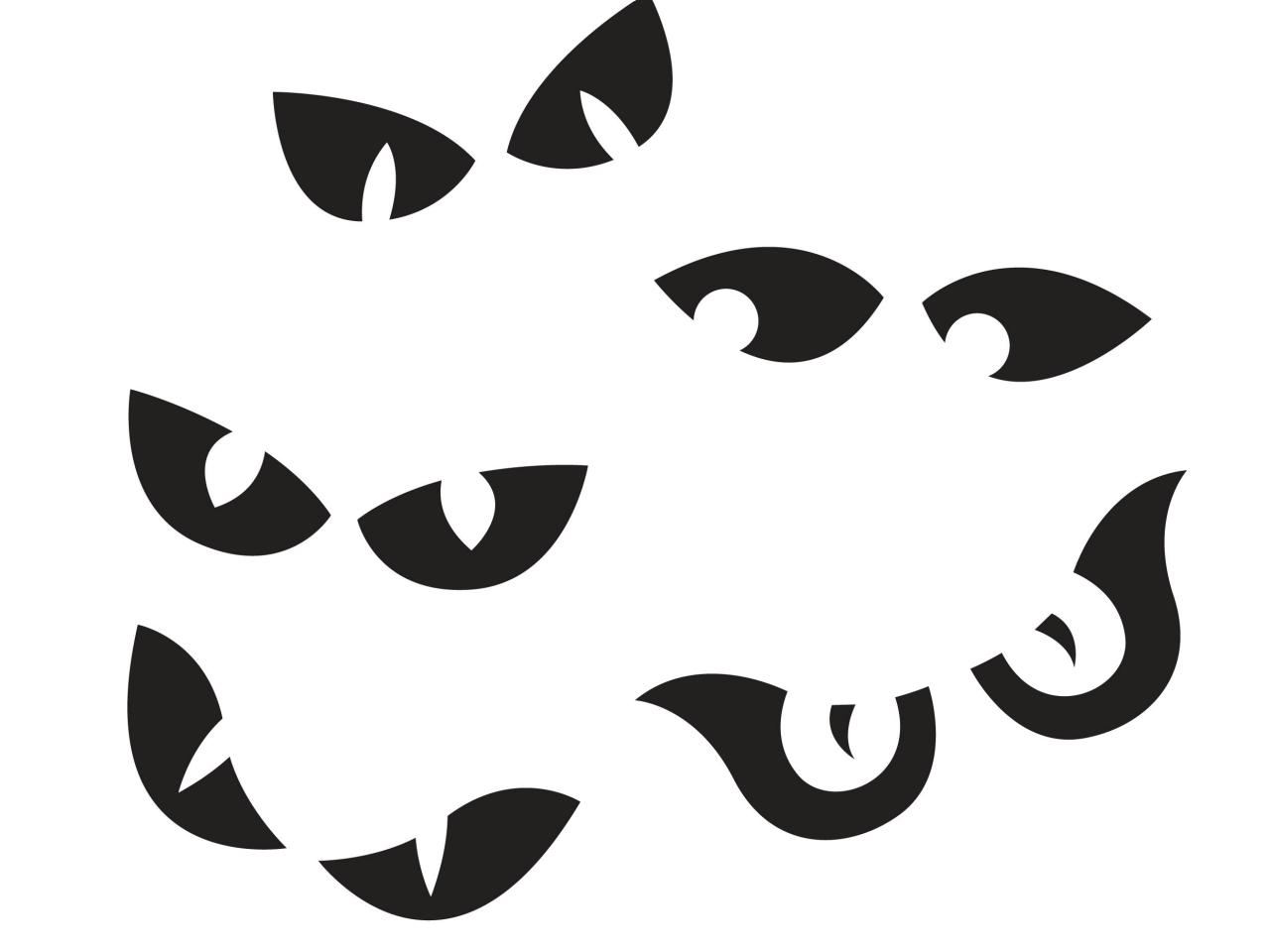 Pumpkin Eyes Clipart