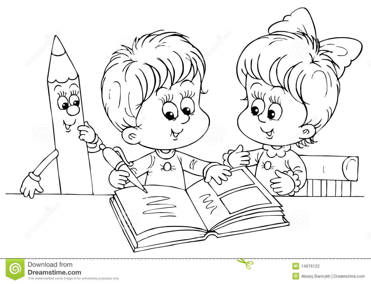 Read Pages Clipart