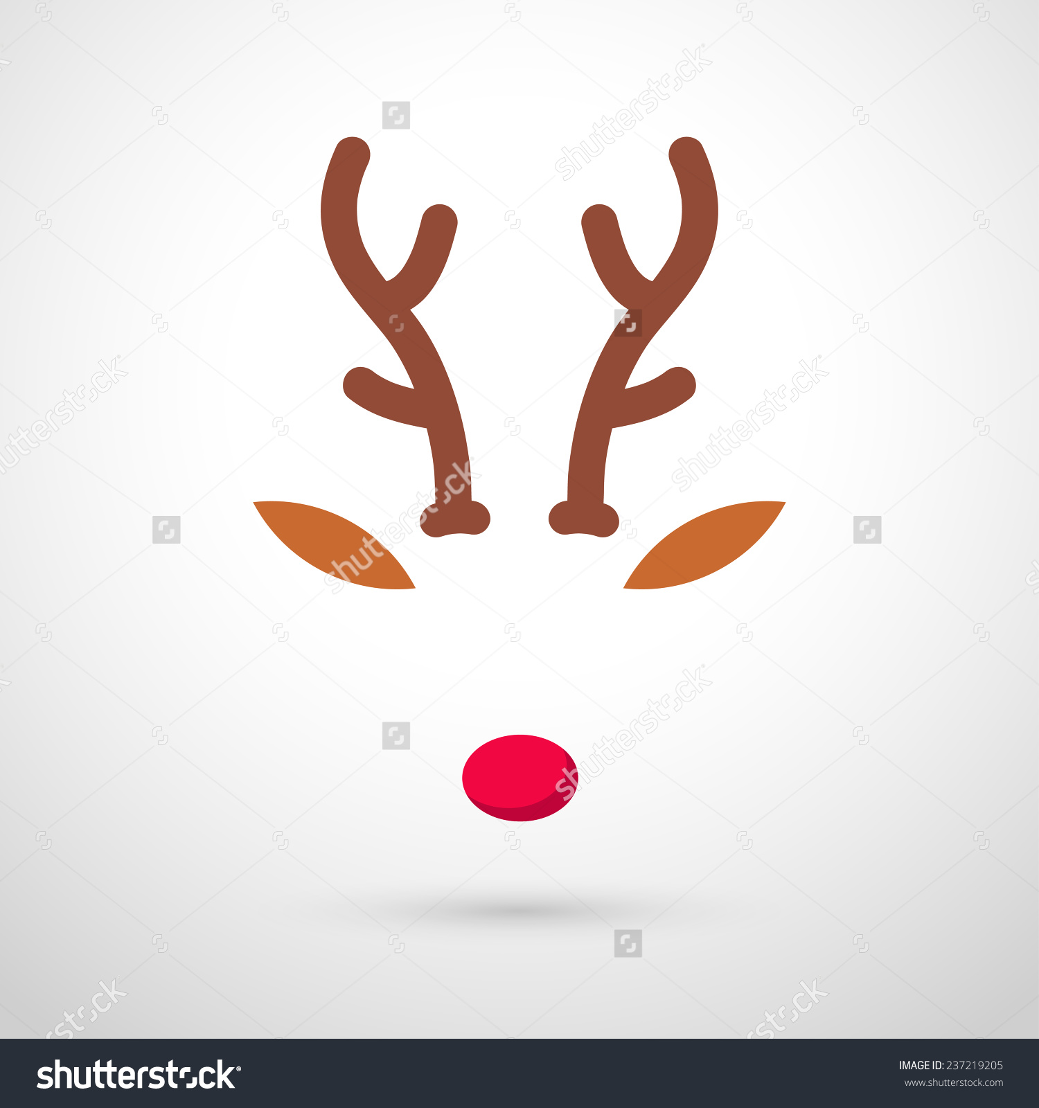 Reindeer Games Clip Art Black And White Christmas