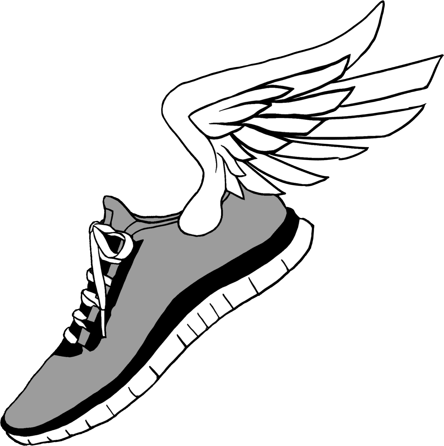 Running Shoe Clip Art 10 Free Cliparts
