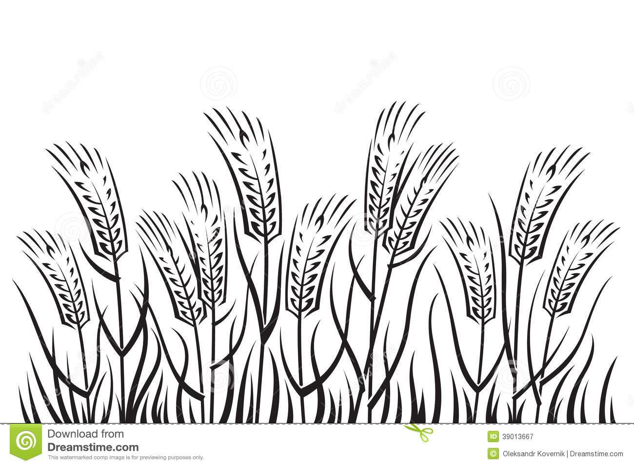 Rye Field Clipart