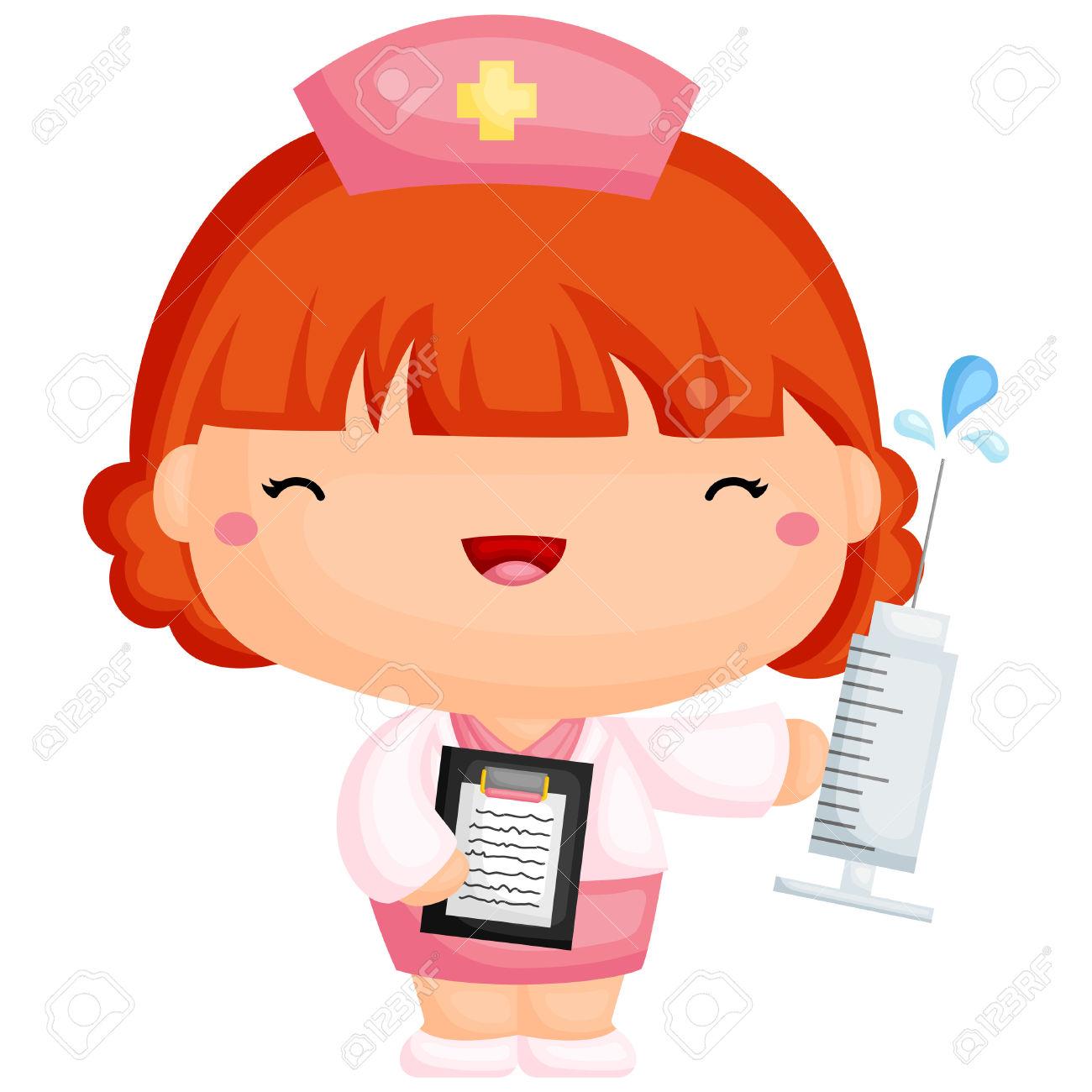 Medical Art Scrubs Clip