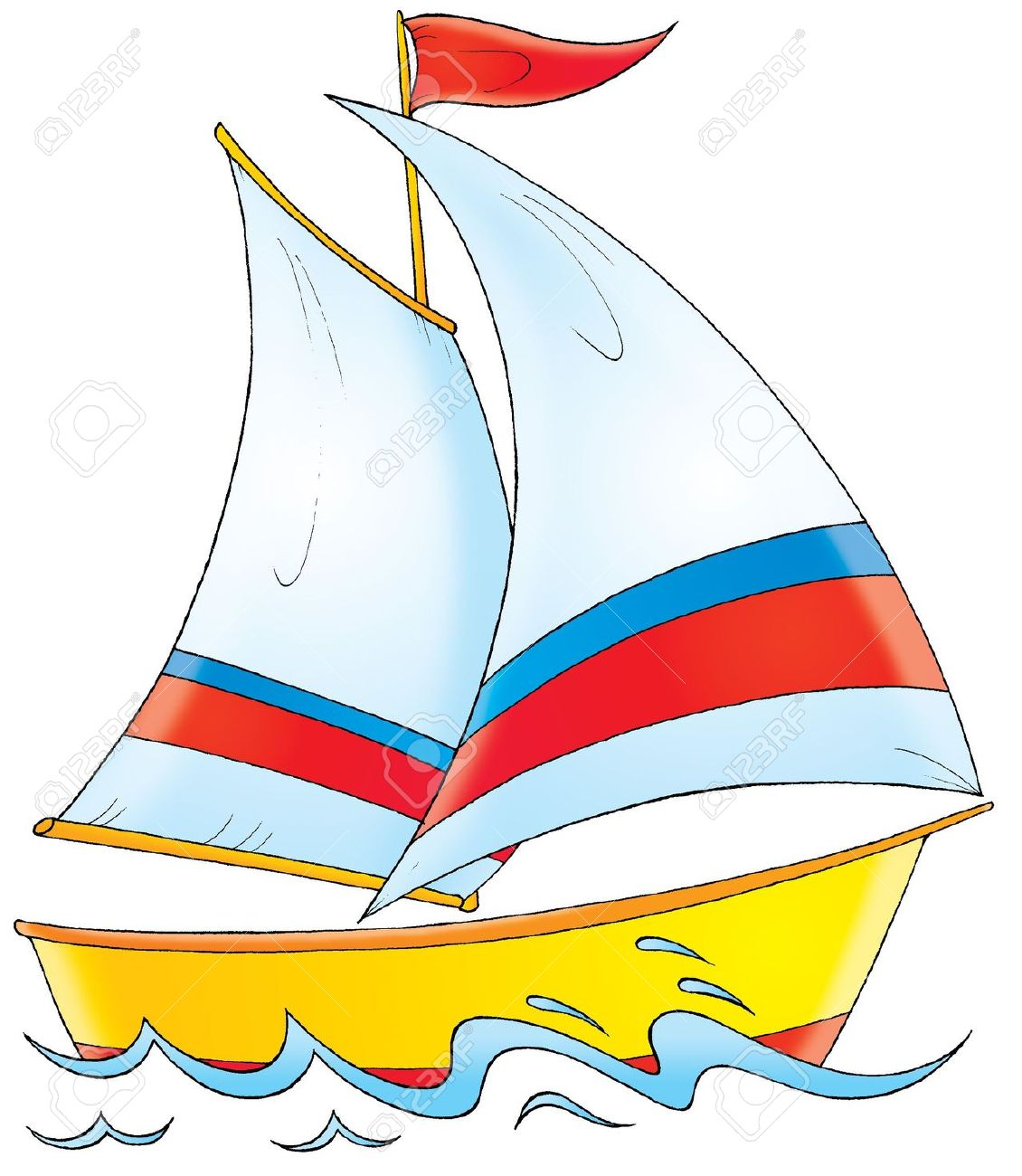 Yacht Clipart Clipground