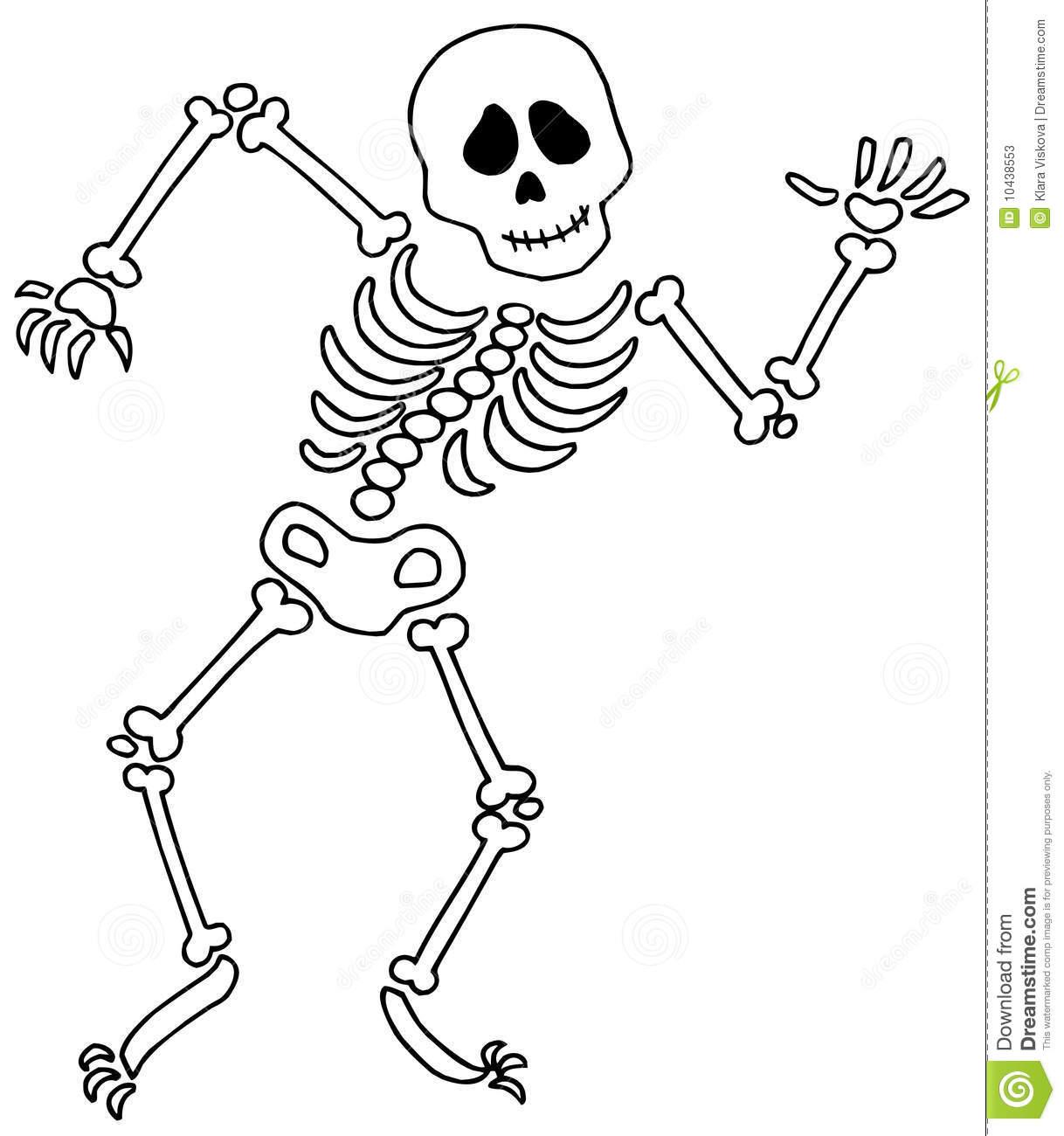 Skeletons Clipart