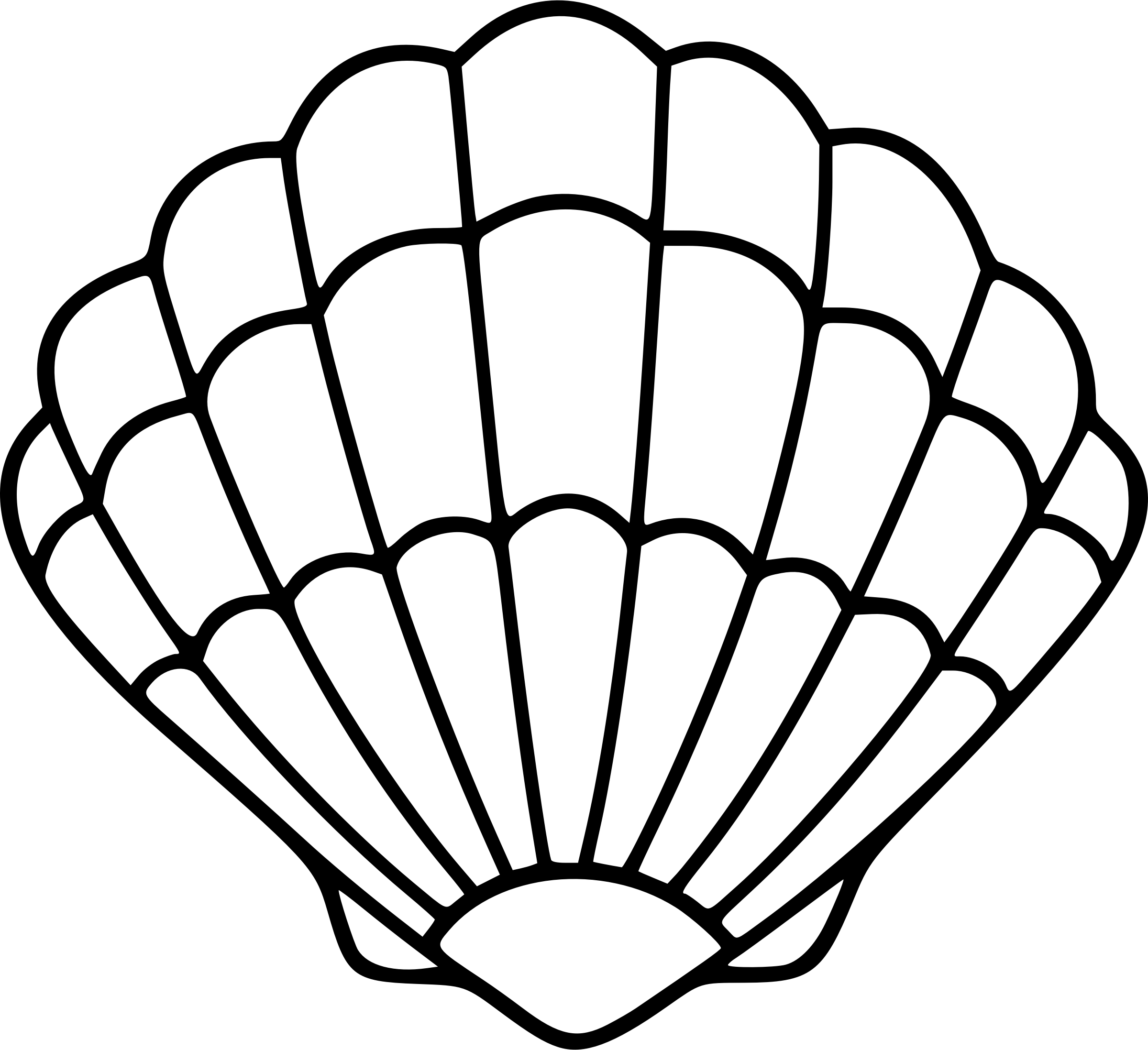 Transparent Seashell Clipart 10 Free Cliparts