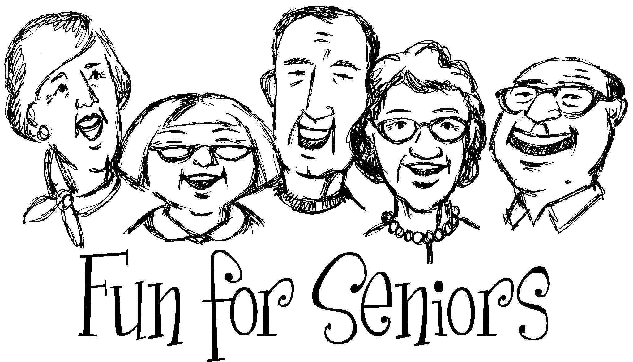 Senior Citizens Clipart Bus