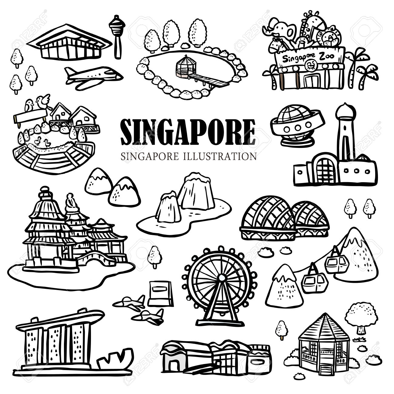 Singapore Flyer Clipart Clipground