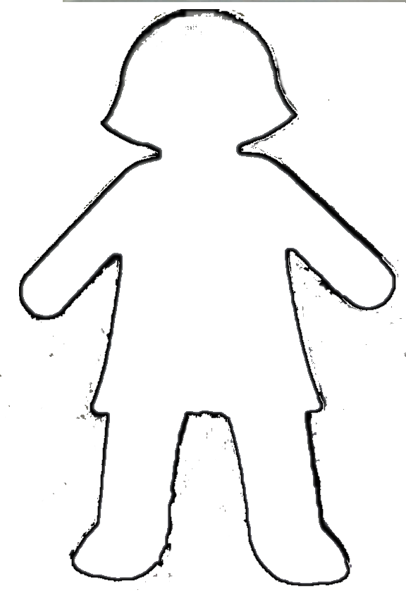 Woman Body Outline Clipart Clipground