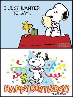 Snoopy Happy Birthday Clipart Clipground