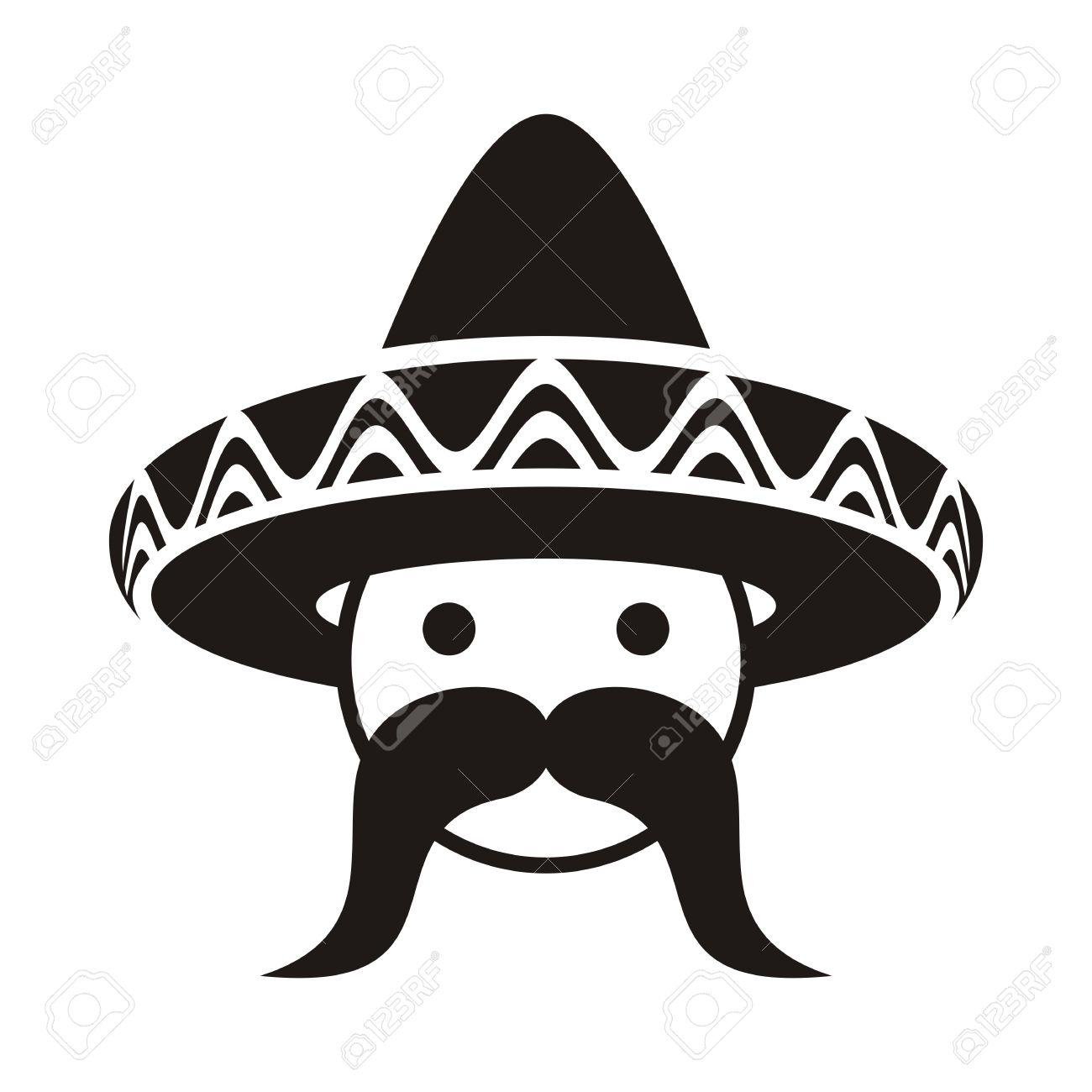 Spanish Man With Sombrero Clipart 20 Free Cliparts