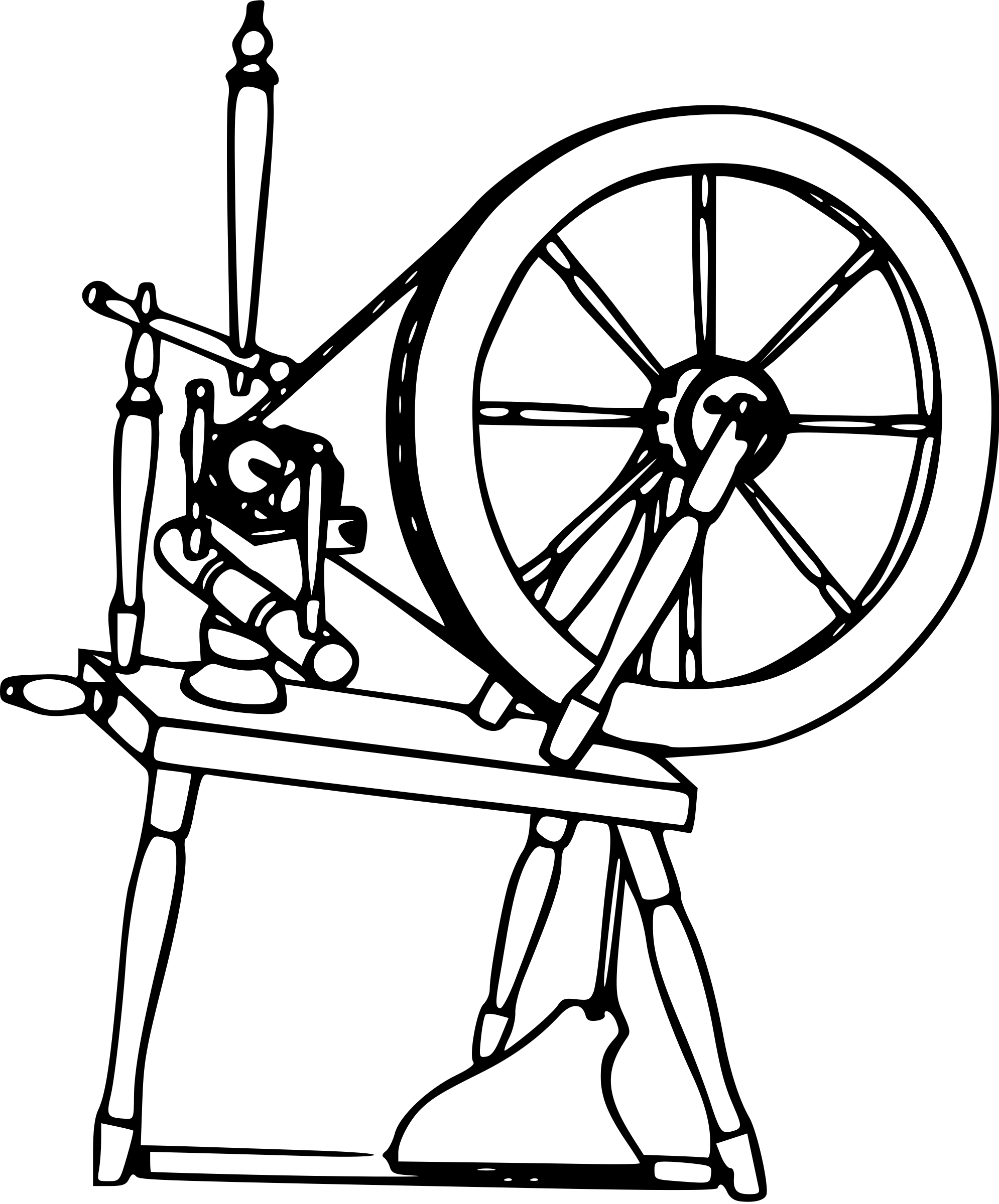 Spinning Wheel Clipart 20 Free Cliparts