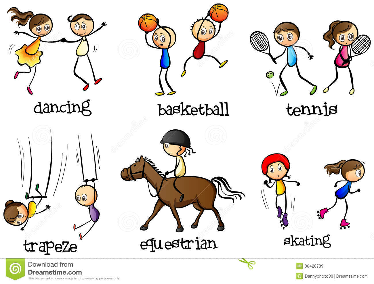Sport Activity Clipart