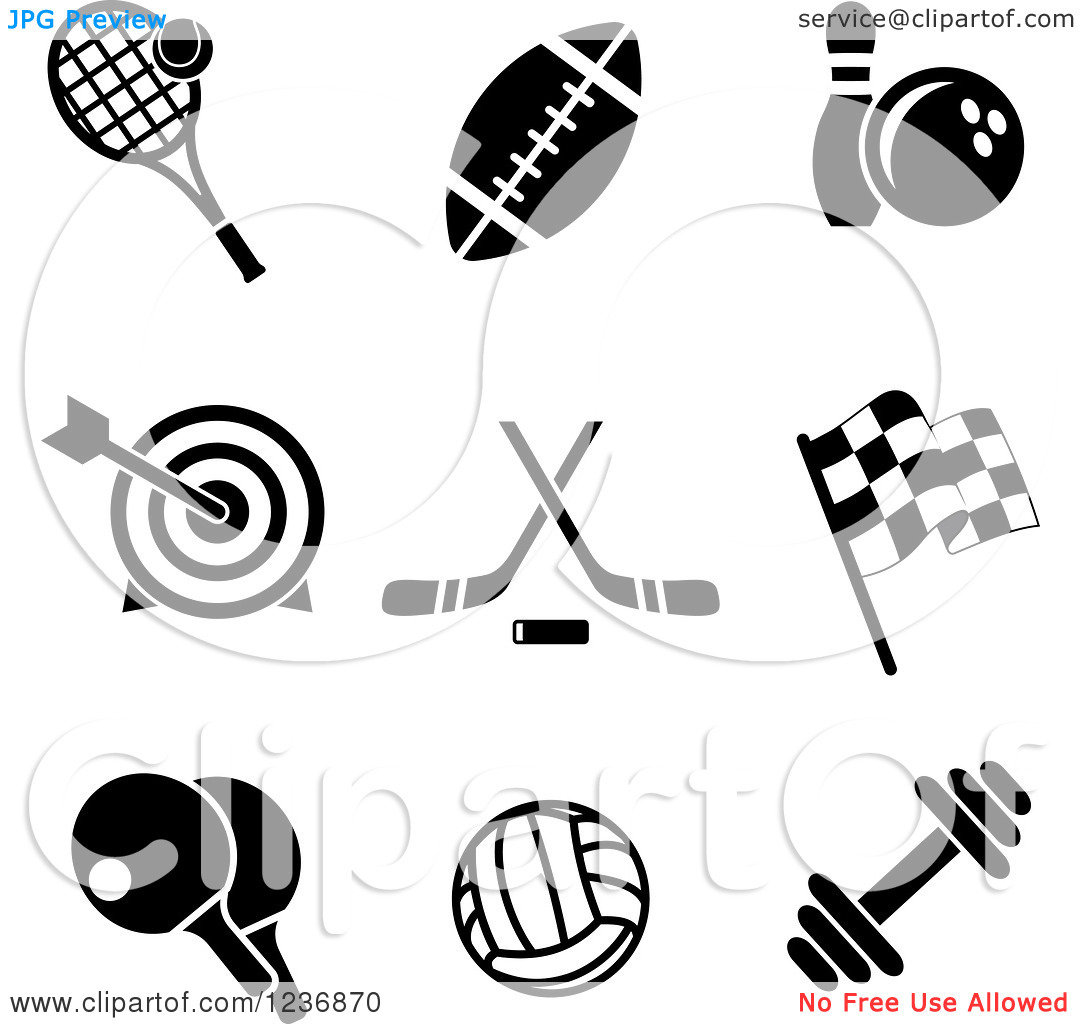 Sports Recreation Clipart