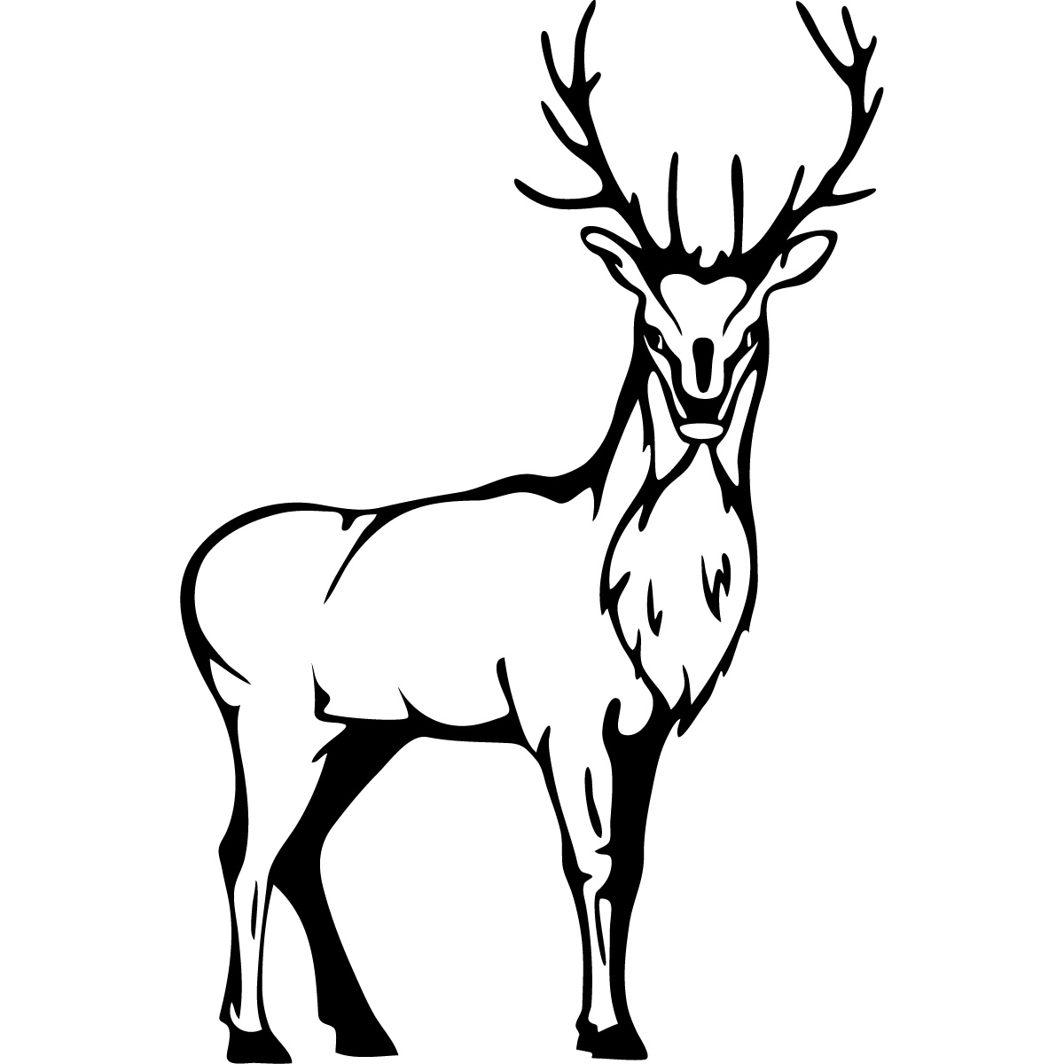 Stag Clipart
