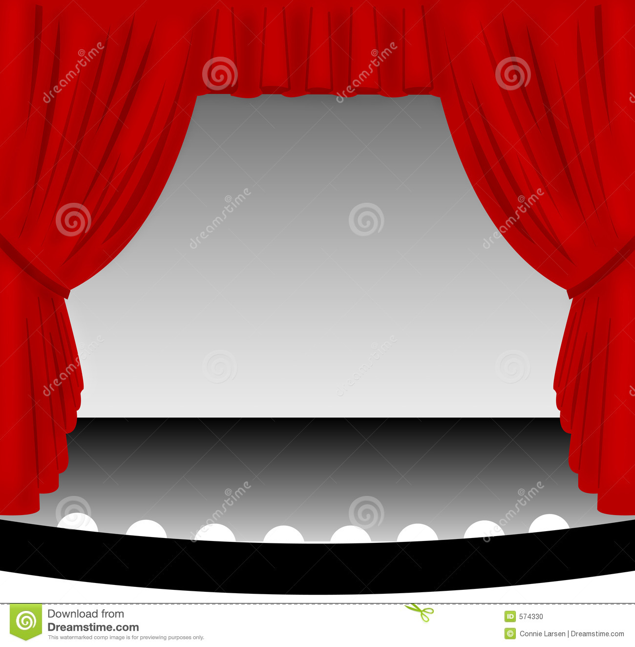 Stage Picture Clipart Clipground