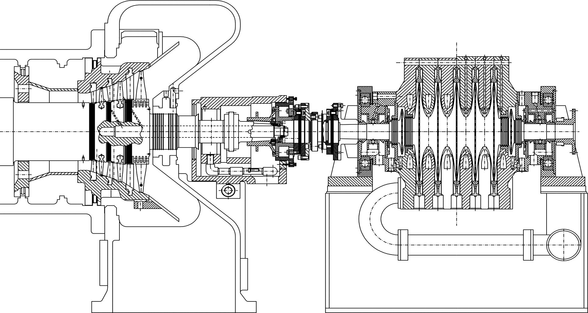 Steam Turbines Clipart