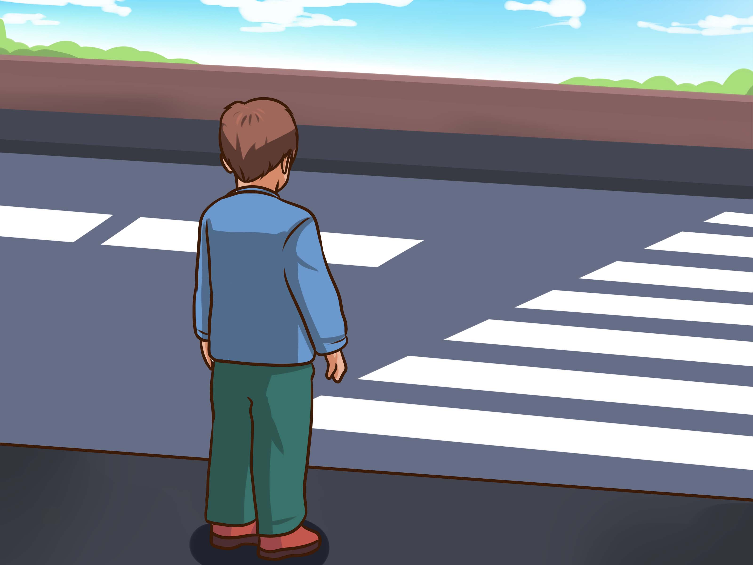 Street Safety Clipart