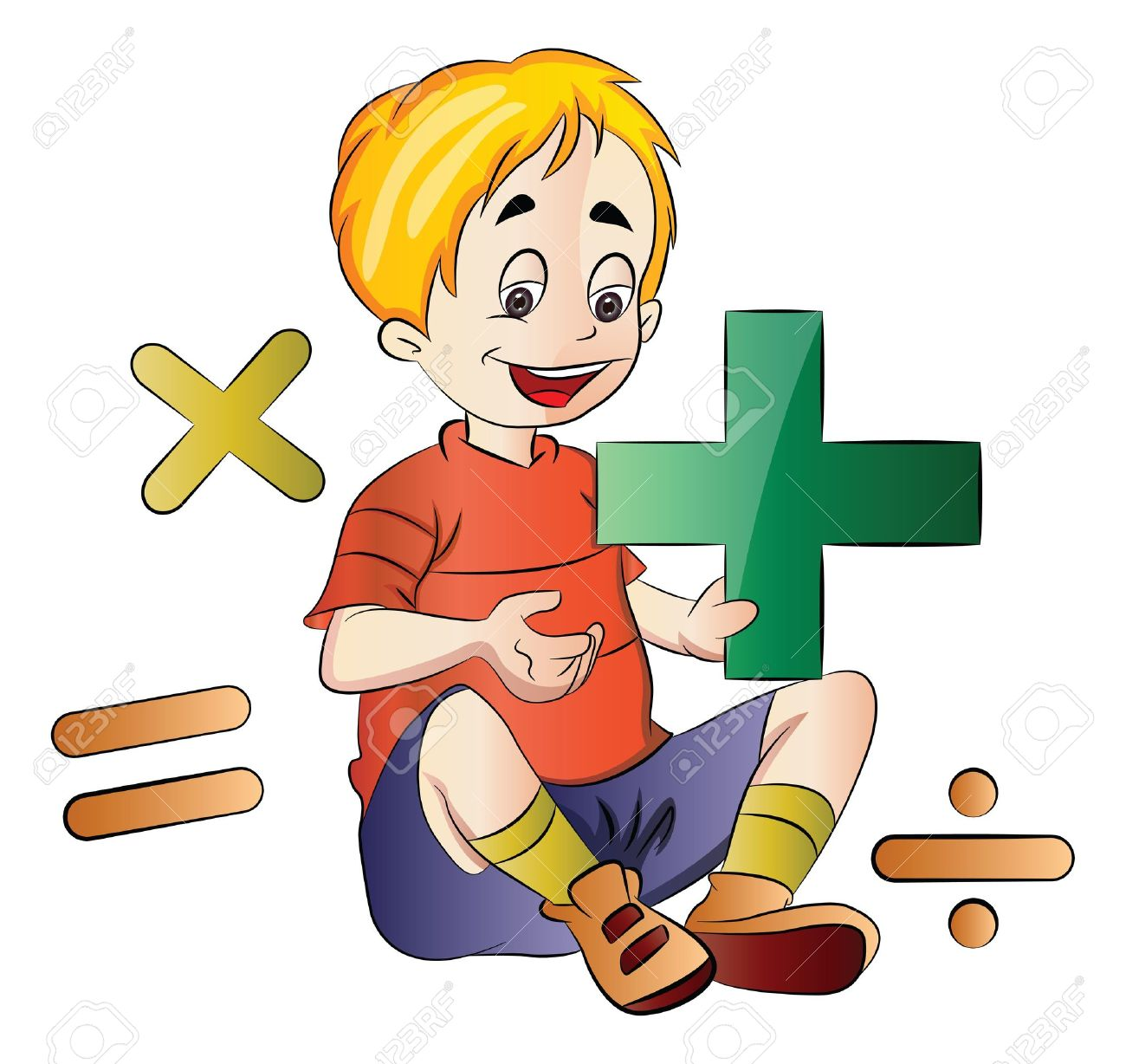 Subtraction Boy Clipart 20 Free Cliparts