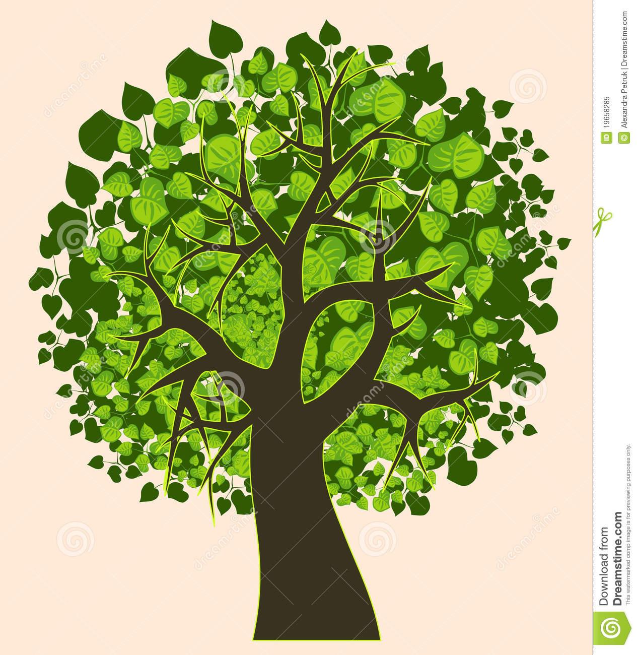 Summer Tree Clip Art Cartoons