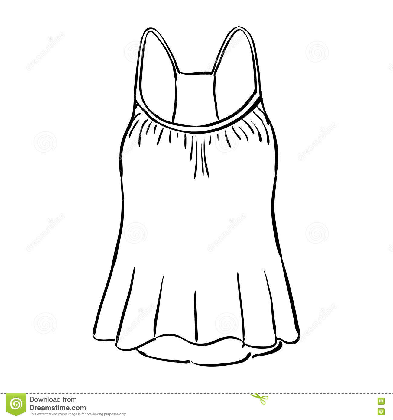 Tank Top Clipart