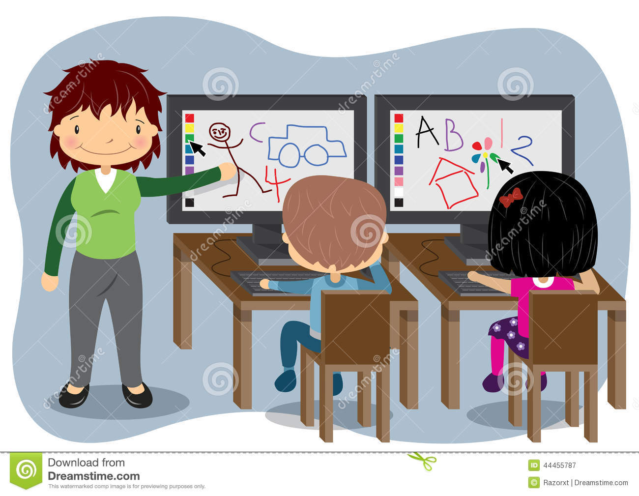 Teacher In Front Of Class Clipart 20 Free Cliparts