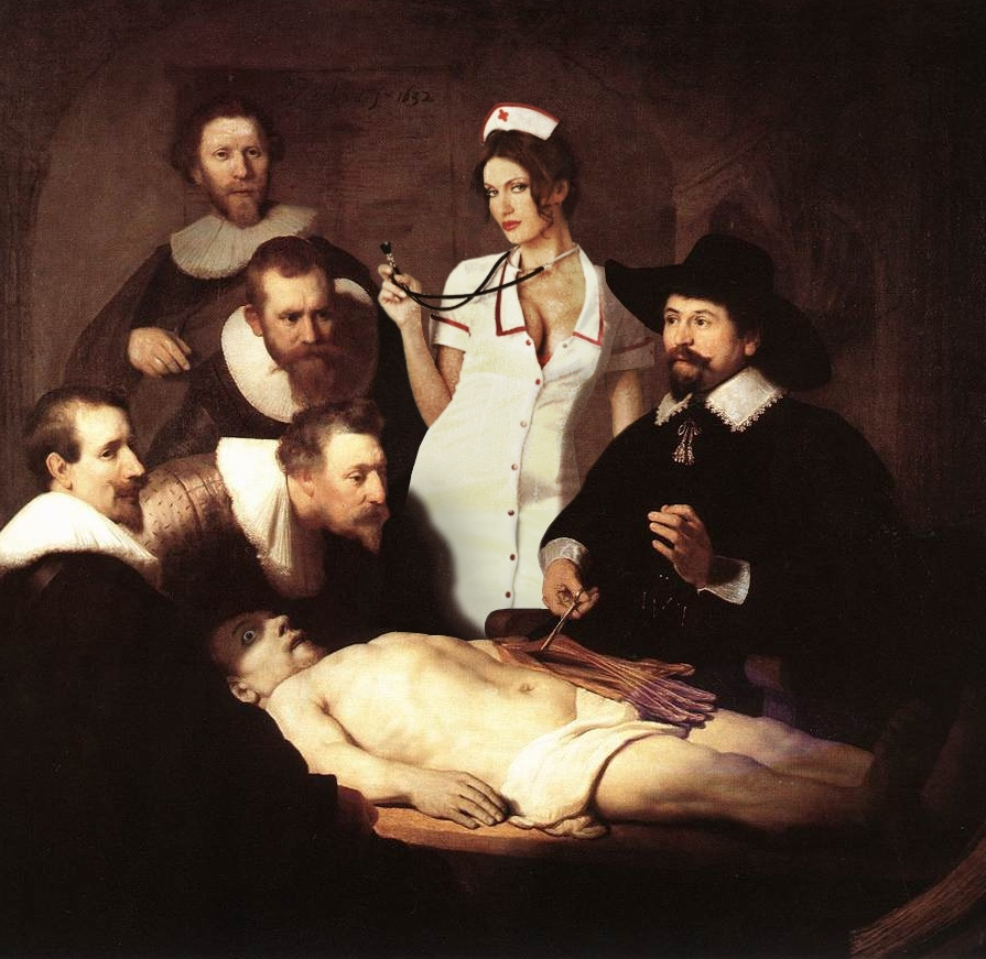 the anatomy lesson painting » [HD] Images | Pin Wallpaper