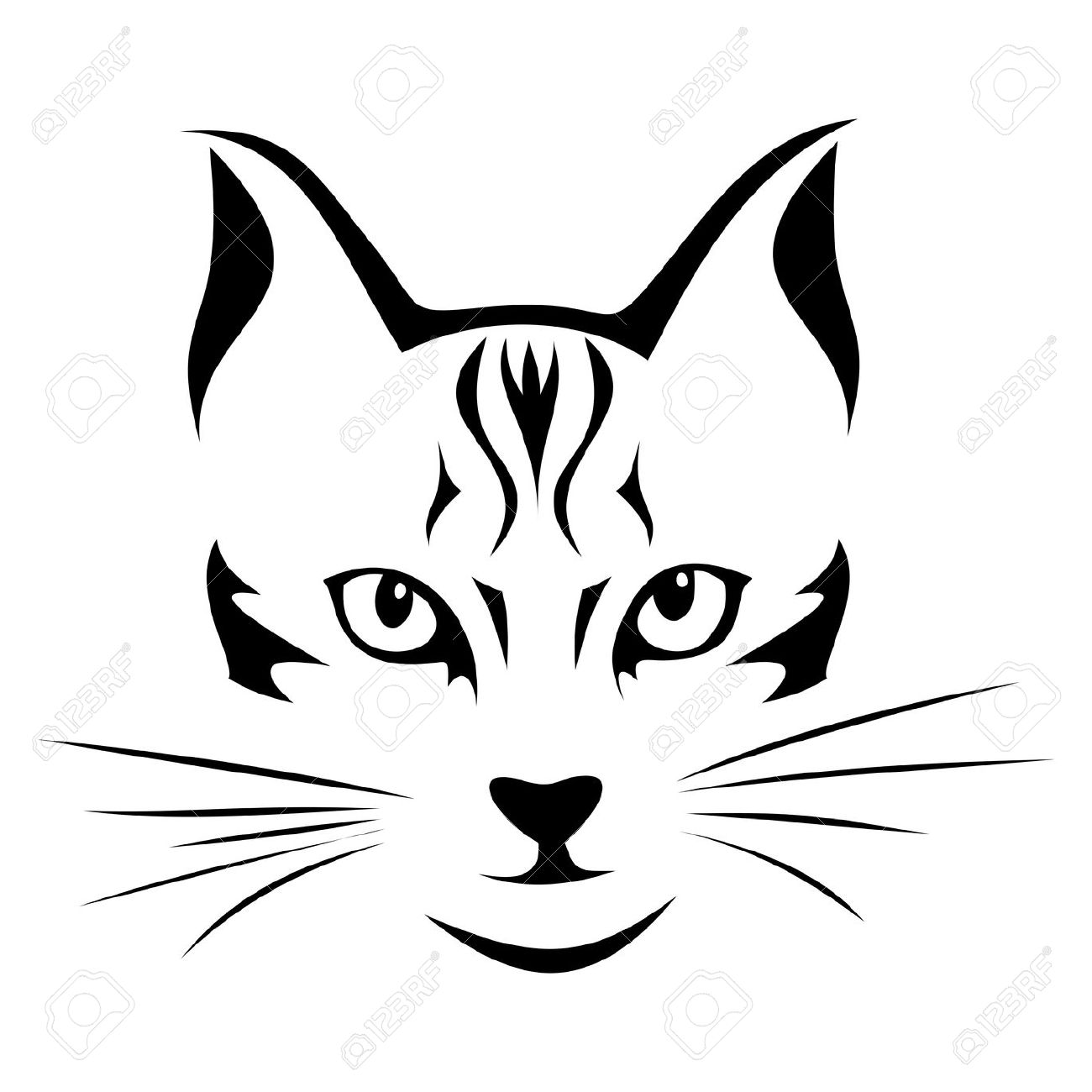 The Cat S Nose Clipart 20 Free Cliparts