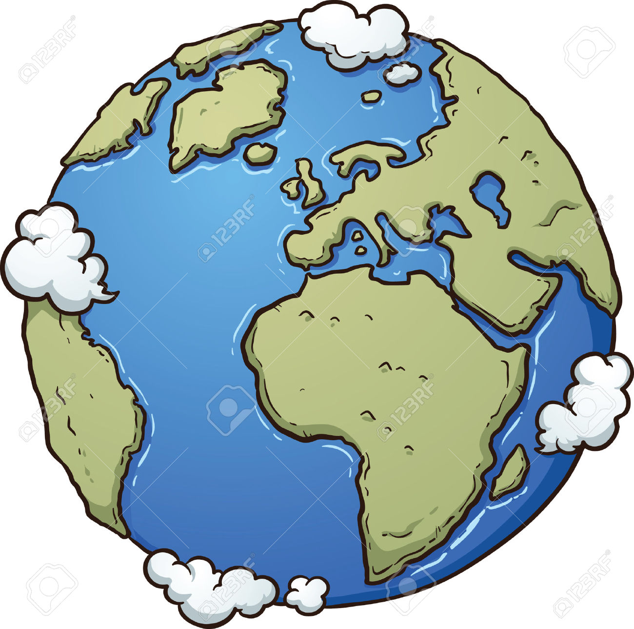 The Earth S Atmosphere Clipart