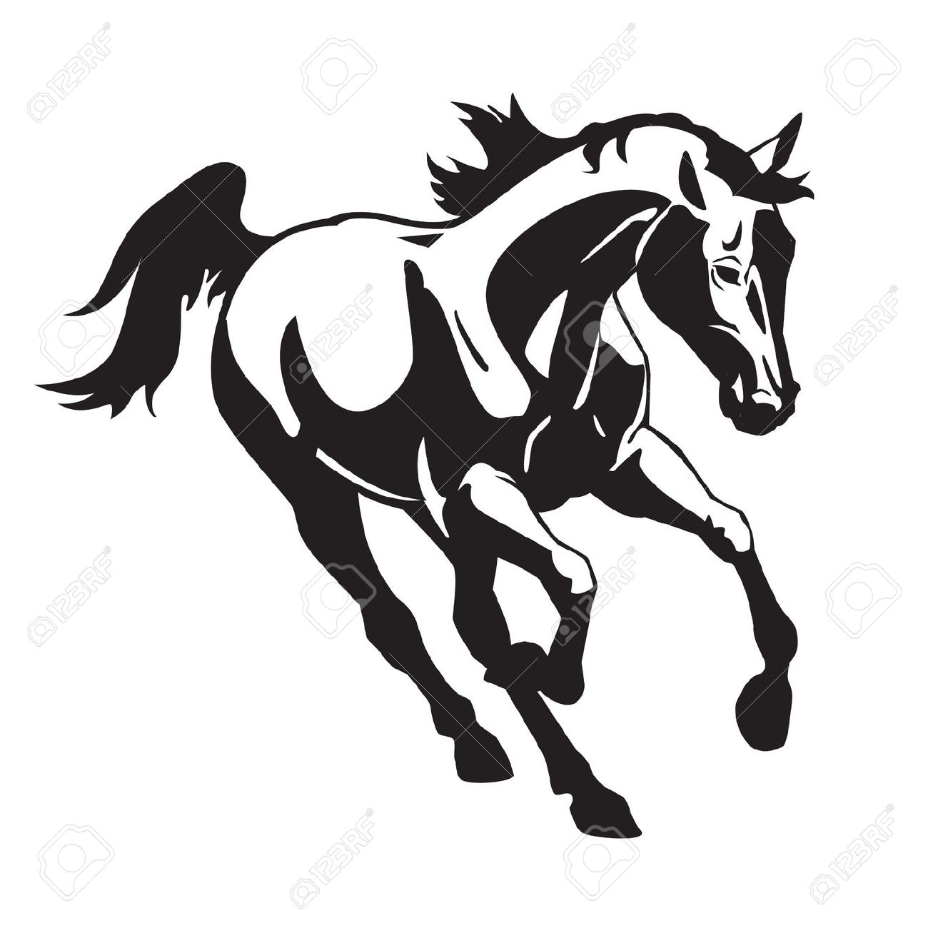 Thoroughbred Clipart