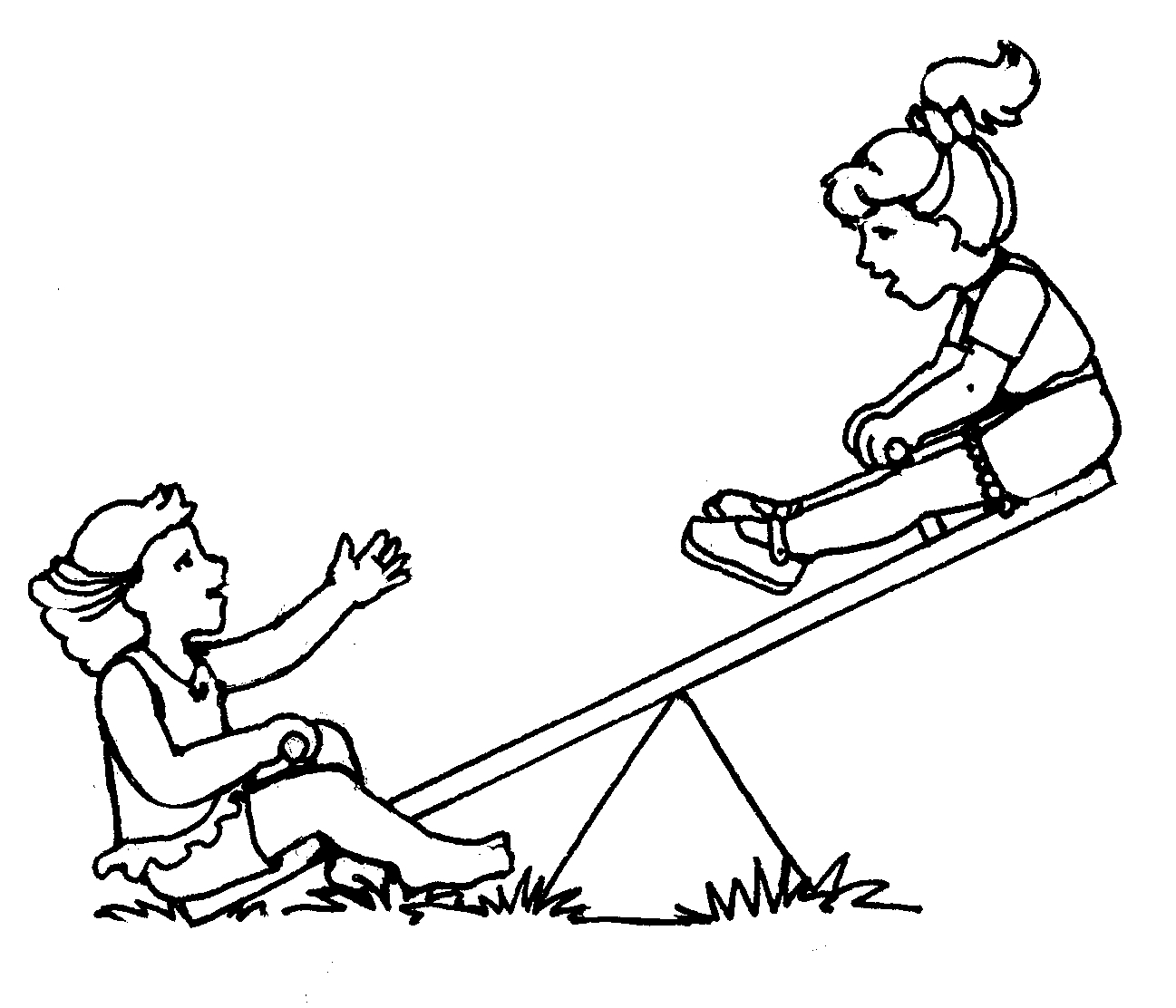 Teeter Totter Clipart