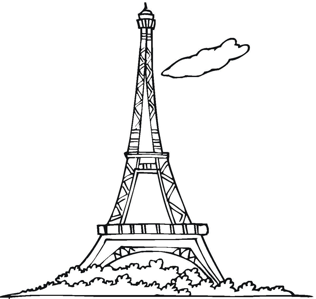 Tower With Spire Clipart