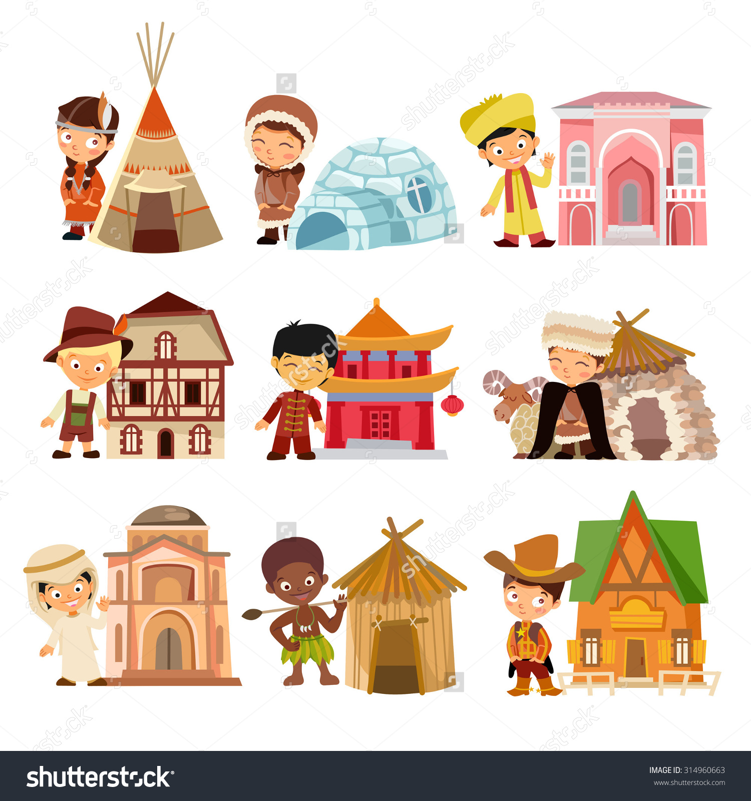 Dwellings Clipart 20 Free Cliparts