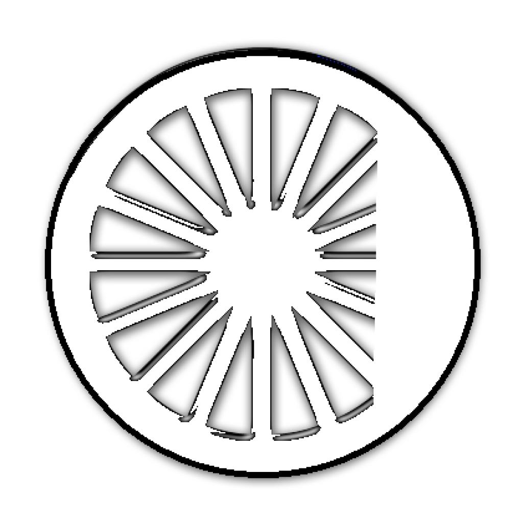 Train Wheels Clipart