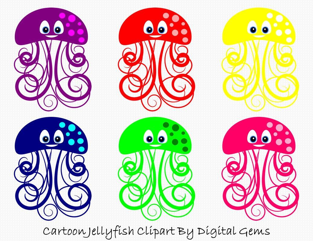 Translucent Blue Jellyfish Clipart Clipground
