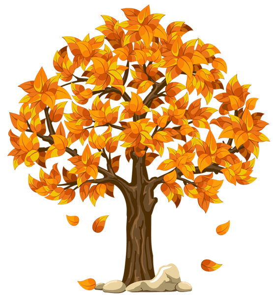 Drawing Trees Leaves Falling