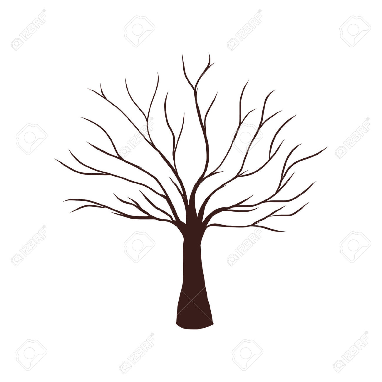 Tree With No Leaves Clipart 20 Free Cliparts
