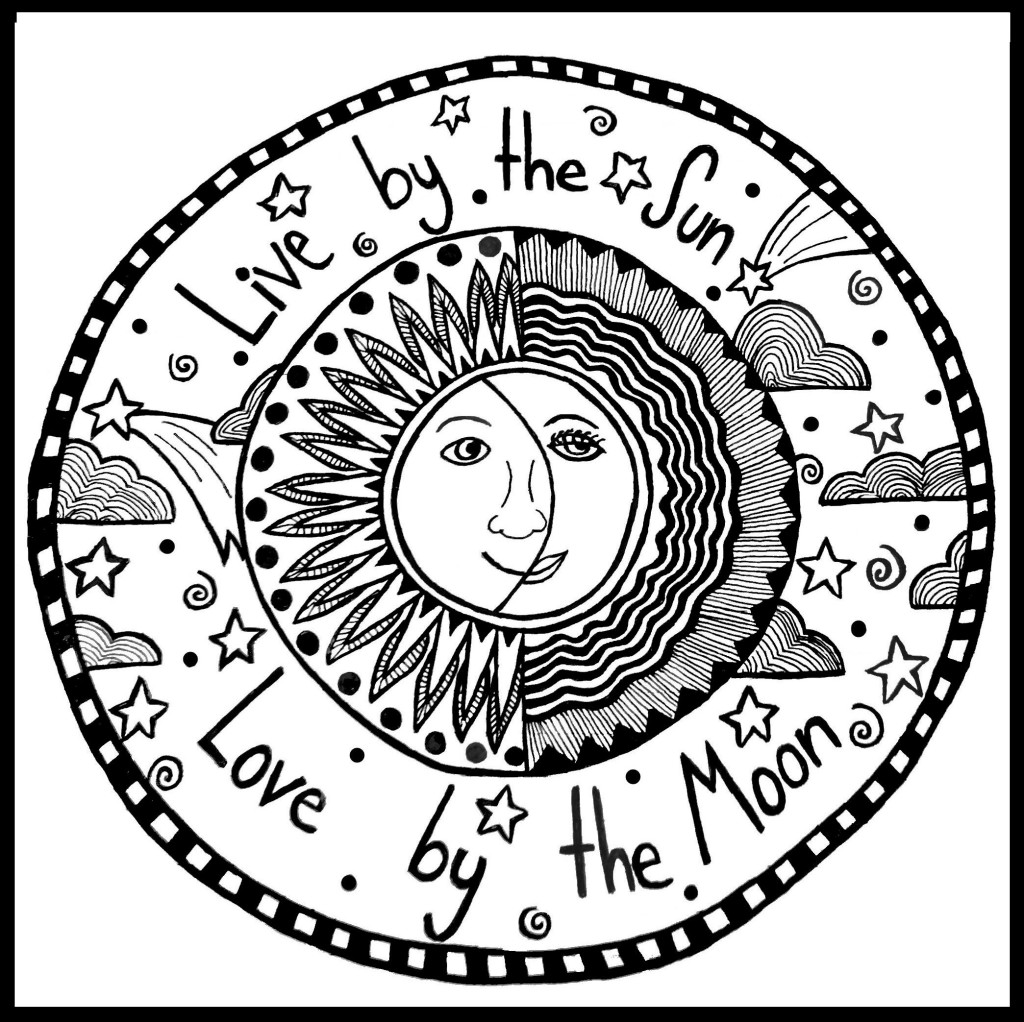 Trippy Sun And Moon Clipart 20 Free Cliparts