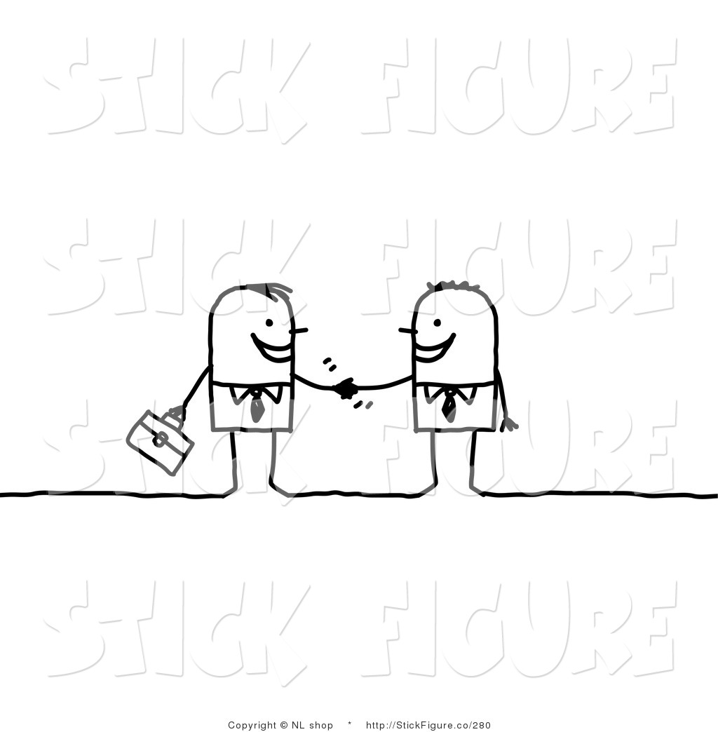 Two Figures Clipart