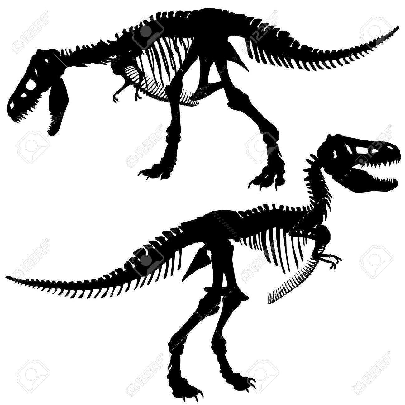 Tyrannosaurus Clipart Silhouette