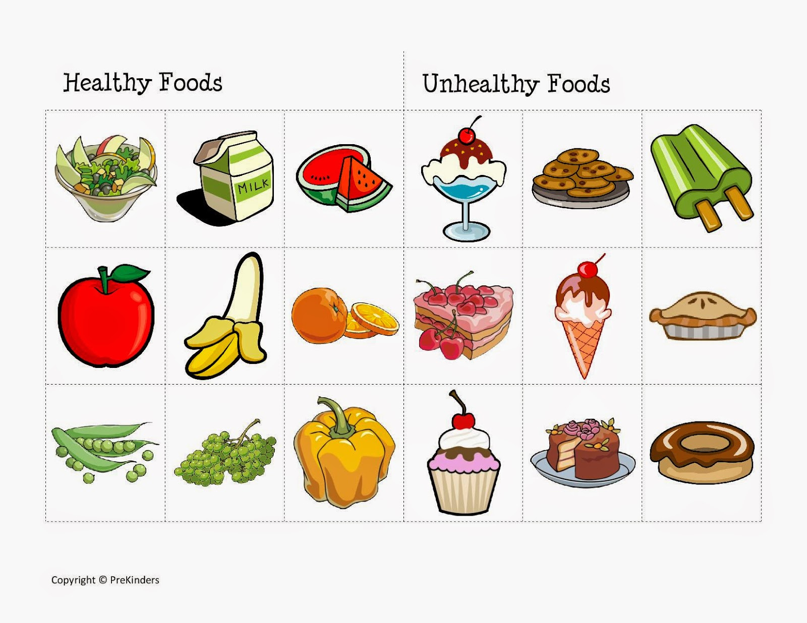 Unhealthy Food For Kids Clipart 20 Free Cliparts