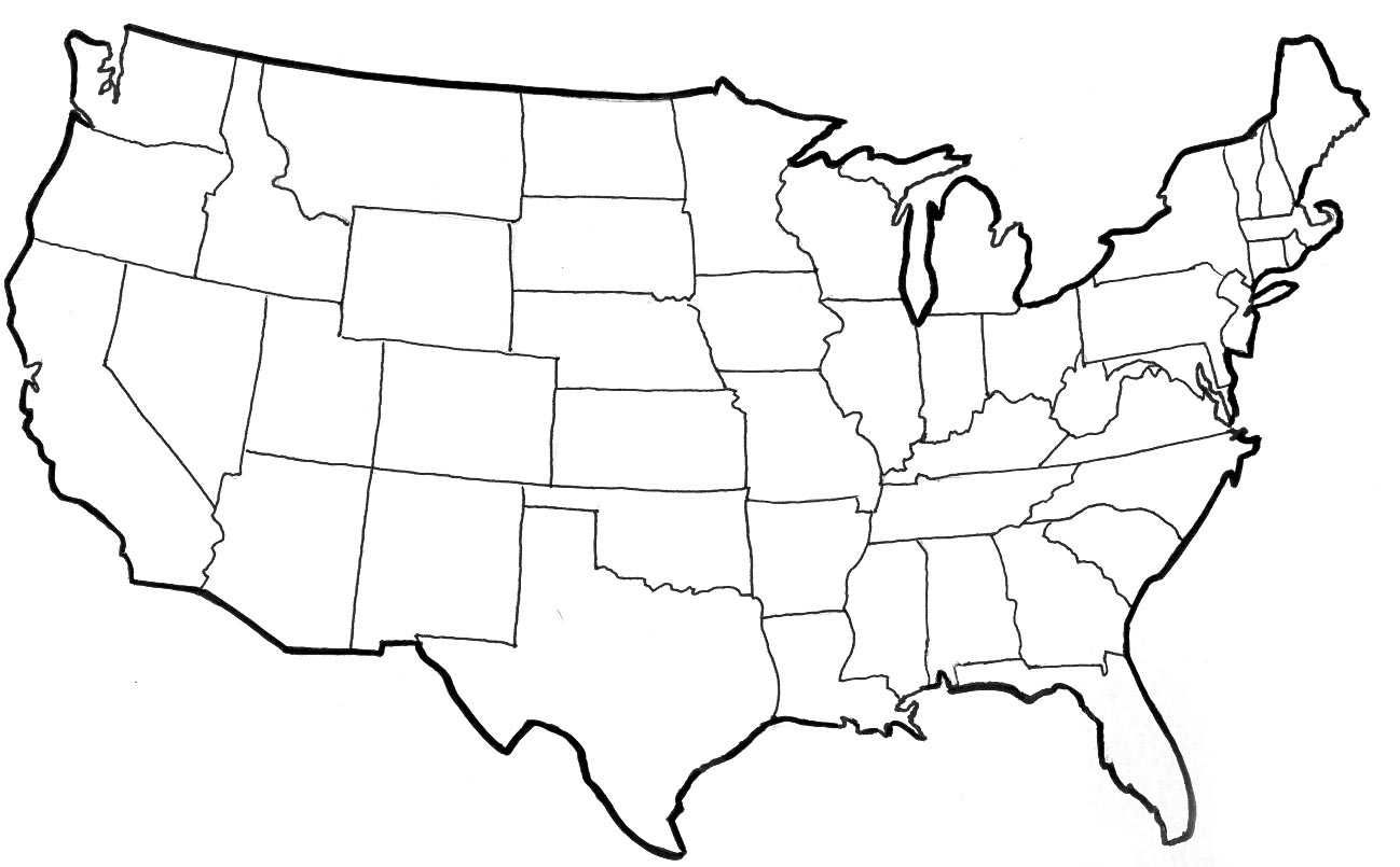 Ms Clipart Gallery Usa Map