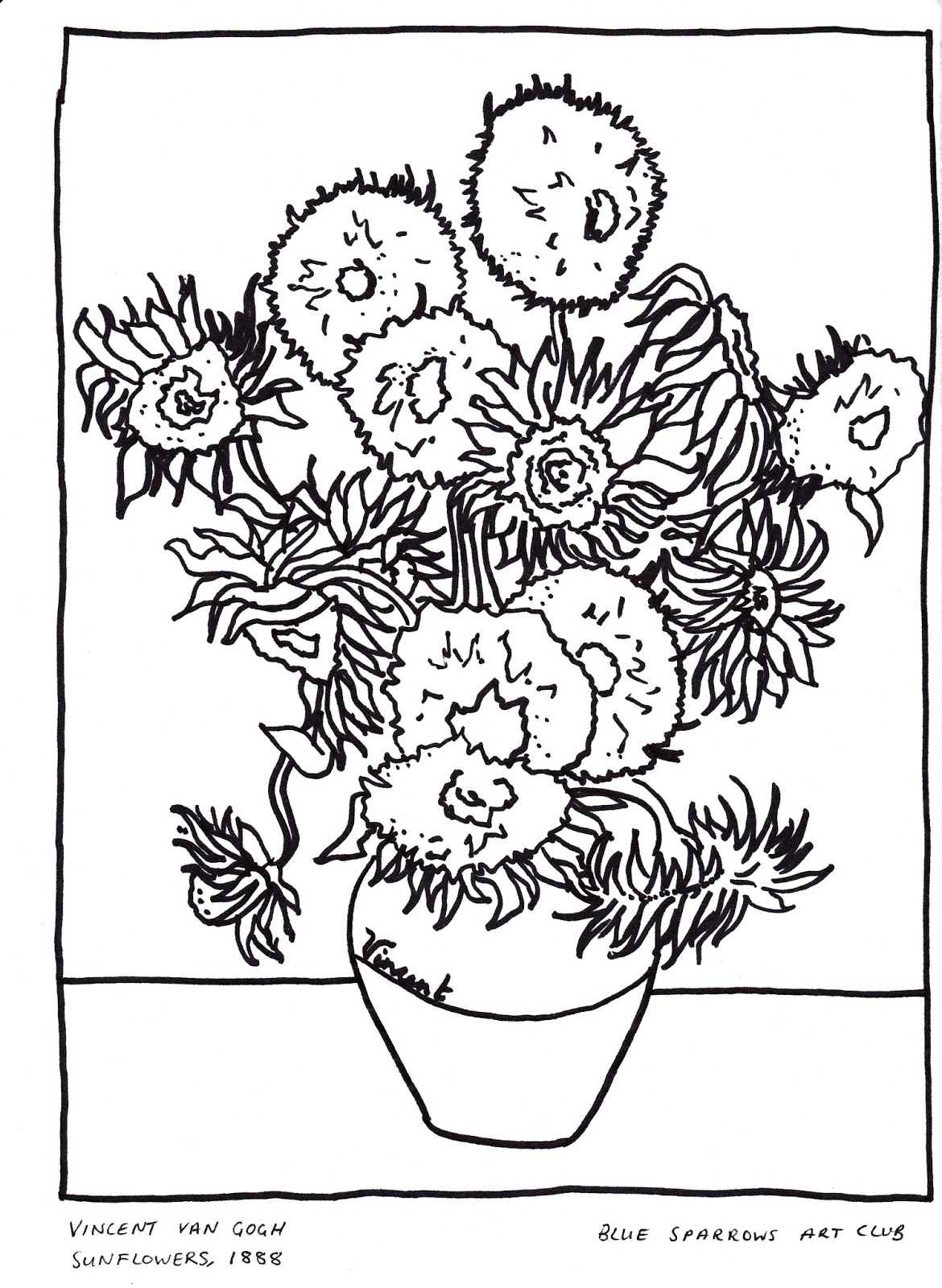 Picasso Paintings Coloring Pages Coloring Pages