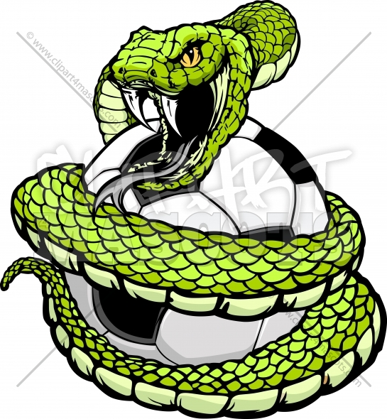 Logo Viper Head Snake Vipers