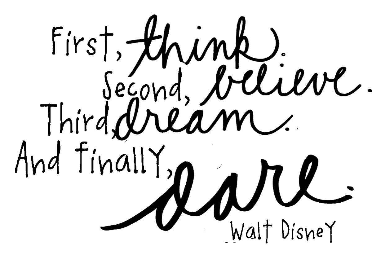 Walt Disney Quotes Clipart