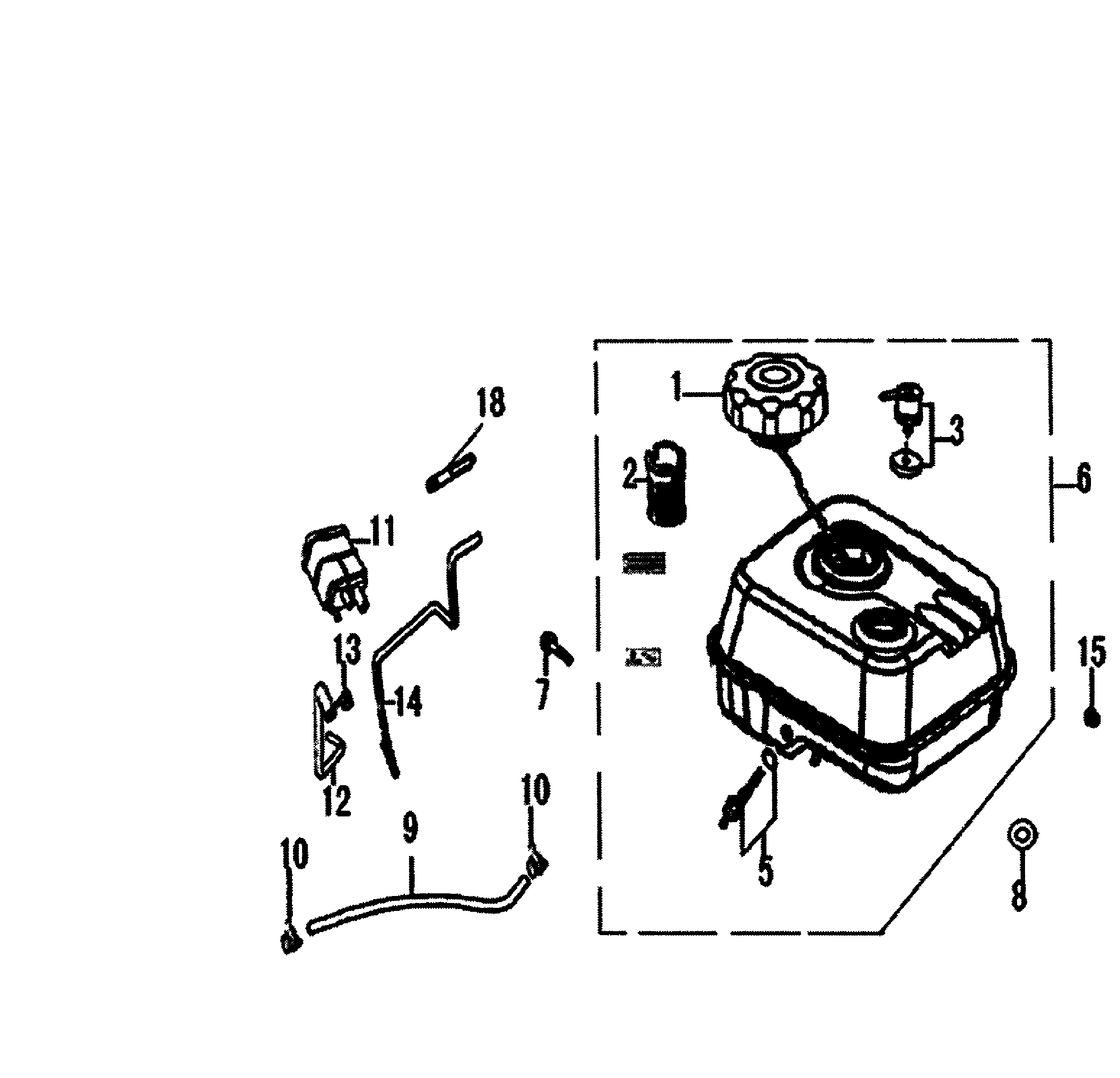 Washers Gas Tank Clipart