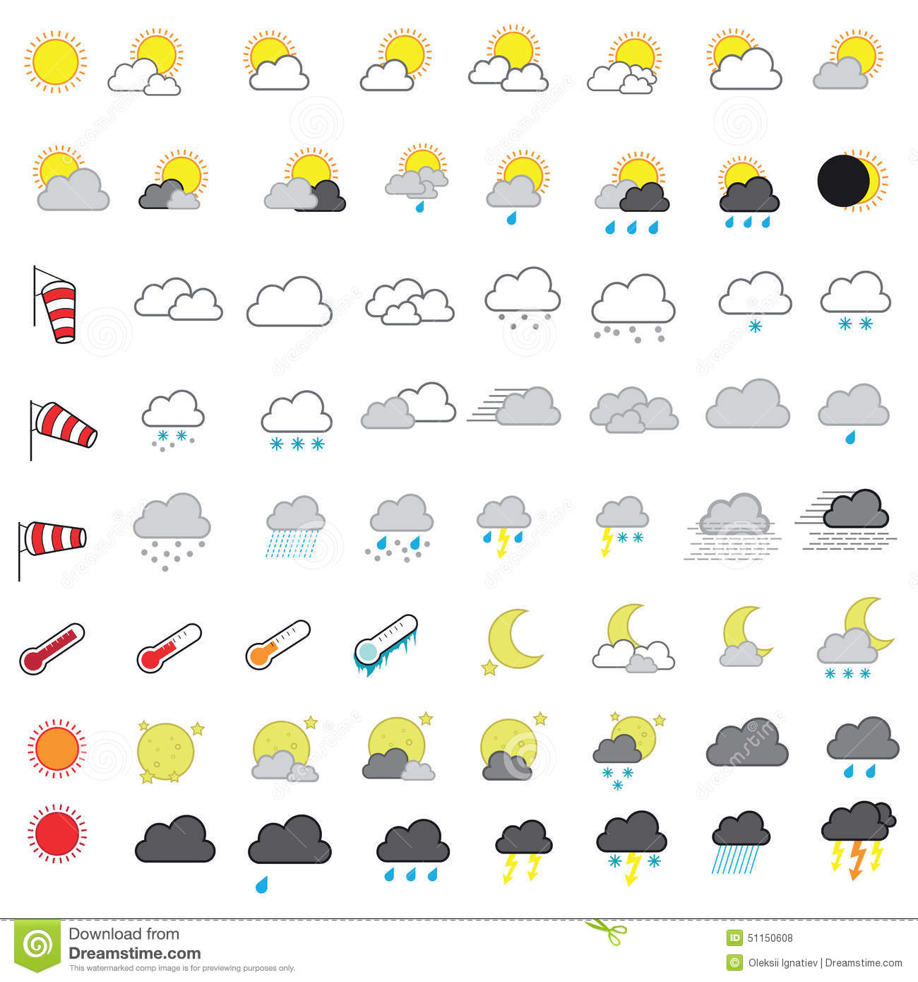 Weather Forecast Clipart