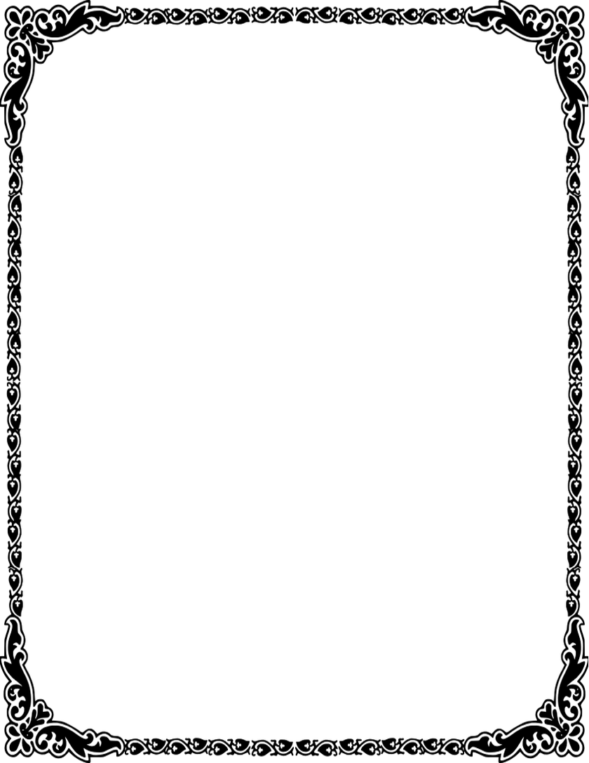 invitation card border png image collections invitation