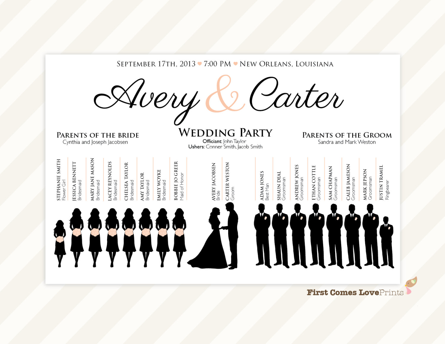 Wedding Parties Clipart