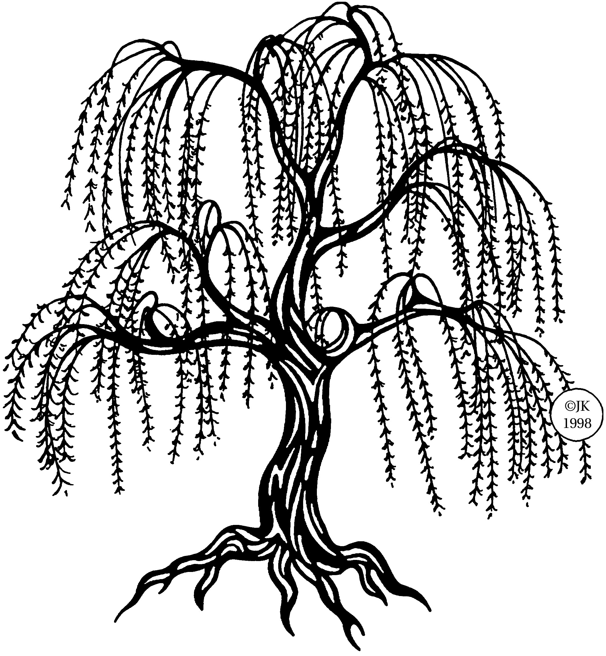 Weeping Willow Clipart 20 Free Cliparts