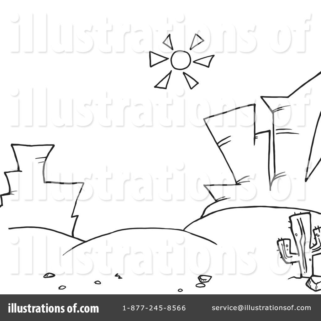 White Desert Clipart